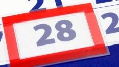 kalender 28 dagen